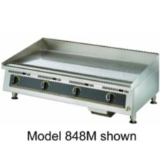 "Star® Mfg Ultra-Max® Manual Control 72"" Gas Griddle"