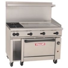Vulcan Hart 48C-2B-36G Endurance Gas Restaurant Range with 2 Burners
