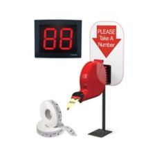 Sato 20019 Wireless Turn-O-Matic® Take-a-Ticket Number System