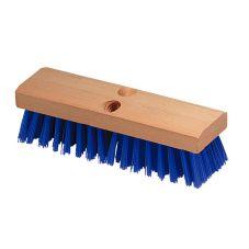 "Carlisle® 3617514 Flo-Pac® 10"" Blue Deck Scrub"