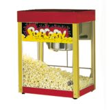Star® 39R-A Jet Antique Red Counter 6 Oz. Popcorn Popper