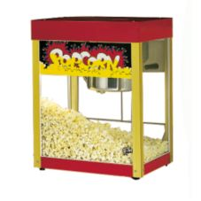 Star® Mfg Jetstar® Antique Red Counter 6 Oz. Popcorn Popper