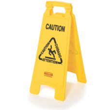 "Rubbermaid® FG611200YEL  Yellow 26"" Caution Sign"