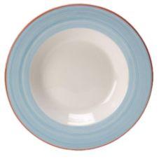 """Steelite 15310350 Simplicity Rio Blue 11-3/4"""" Pasta Dish - 6 / CS"""
