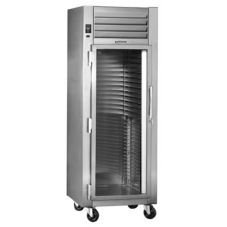 Traulsen RHT232WPUT-HHG R-Series 2-Section Pass-Thru Refrigerator