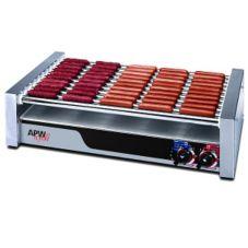 APW Wyott HR-45 Large HotRod® Flat Hot Dog 16-Roller Grill