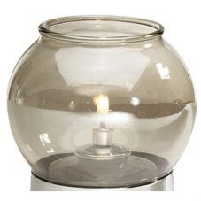 SternoCandleLamp™ 85398 Smoke Globe