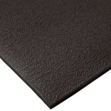 "NoTrax 4454-512 Comfort Rest 3/8"" Thick 3' x 5' Coal Floor Mat"