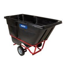 Rubbermaid® FG131542BLA 1 Cu. Yard Fork Pocket Tilt Truck