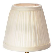 SternoCandleLamp™ 85432 Small Cream Cloth Shade