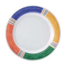 G.E.T. Diamond Barcelona™ 10-1/2 In. Rnd Wide Rim Melamine Plate