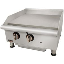 "APW Wyott GGM-18I Champion 18"" Manual Gas Countertop Griddle"