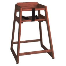 "Tomlinson 1016310 Walnut 29"" High Chair"