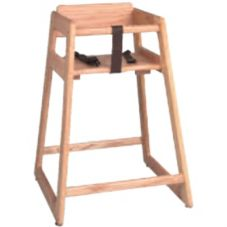 "Tomlinson 29"" Marston High Chair, Mahogany Finish"