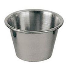 Update International SC-25 2.5 Oz. Stainless Steel Sauce Cup - Dozen