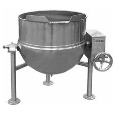 Groen™ DL-20 Direct Steam 20-Gal Tilting Kettle with Manual Tilt