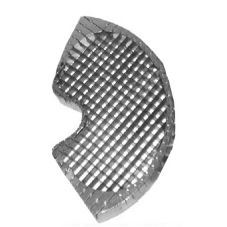 "Piper 5/16"" Dicing Grid Insert for GVC600 WKB-7 and WKK-7"