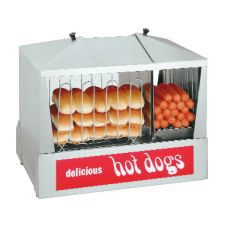 Star® 35SSC Classic Steampro Jr Hot Dog Steamer with Bun Warmer