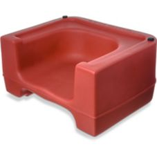 Carlisle® 711005 Red Booster Seat