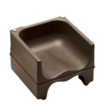 Cambro® 200BC131 Dark Brown Dual Seat Booster Seat without Strap