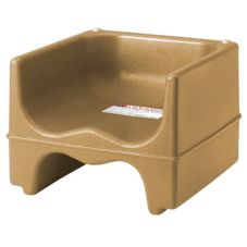 Cambro® 200BC157 Coffee Beige Dual Seat Booster Seat without Strap