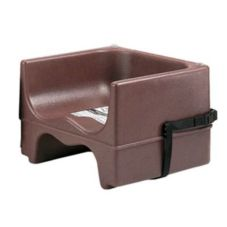 Cambro® 200BCS131 Dark Brown Dual Seat Booster Seat with Strap