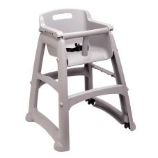 Rubbermaid® FG780508PLAT Sturdy Chair™ Youth Seat w/ Wheels