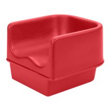 Cambro® 100BC158 Hot Red Single Height Booster Seat without Strap