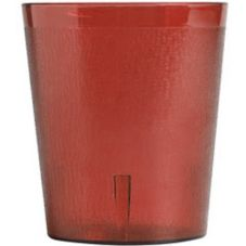 Cambro® 900P156 Colorware Short Ruby Red 9.7 oz. Tumbler - 72 / CS