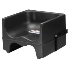 Cambro® 200BCS110 Black Dual Seat Booster Seat with Strap