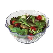 Cambro® SRB13152 Clear 13 Oz. Swirl Bowl - 24 / CS