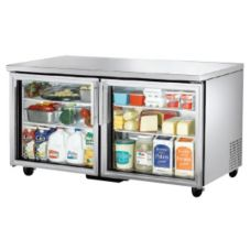 True TUC-60-G 2-Shelf S/S 15.5 Cu Ft Undercounter Refrigerator