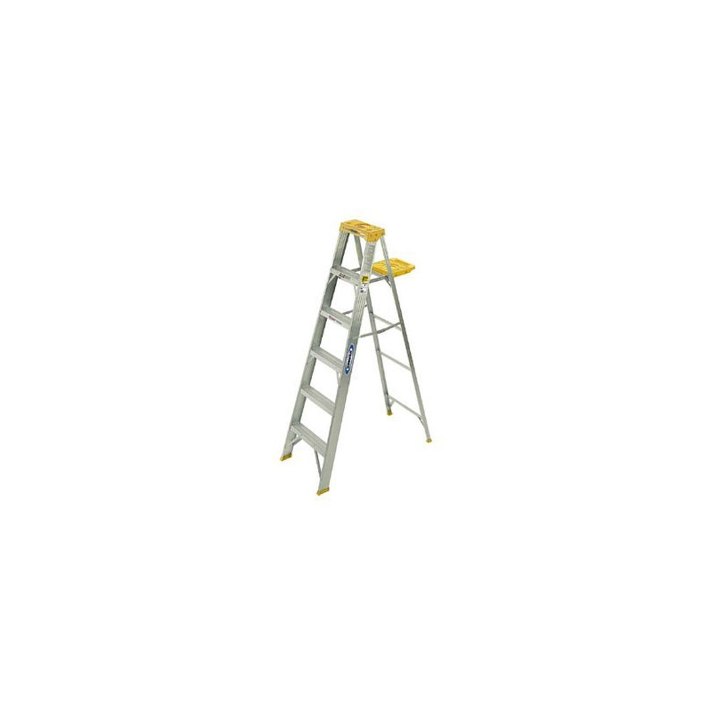 Michigan Industrial Products 331008 Aluminum 8' Step Ladder