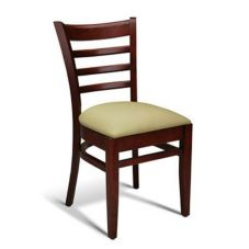 Gar Products 205 PS W Walnut Chair With Lacquered Finish