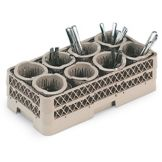 Traex® HR1370 Flatware Rack with 8 Cylinders