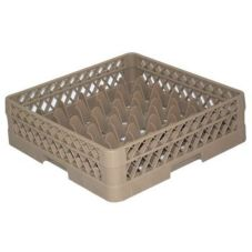 Vollrath TR7A Traex Beige 36 Compartment Glass Rack w/ 1 Open Extender