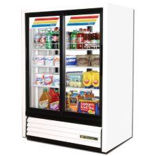True GDM-33C-PT-54-LD Slide Door 15 Cu Ft Convenience Store Cooler