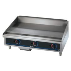 "Star® Mfg Star-Max® 36"" Gas Griddle w/ Safety Pilot"