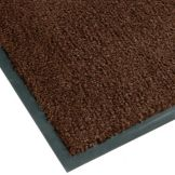 NoTrax 4468-133 Atlantic Olefin® 4' x 10' Dark Toast Floor Mat