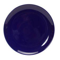 "Tuxton® BCA-0904 9"" Cobalt Healthcare Plate - 12 / CS"