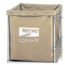 Metro LXHR-NB Vinyl-Coated Nylon Laundry Bag For Lodgix Houserunner