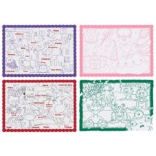 Hoffmaster® 326191 Color Me® Refill Placemats - 1000 / CS