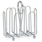 Tablecraft 597C Chrome Plated Wire Jelly Packet Rack - Dozen