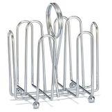 TableCraft 597C Chrome Plated Wire Jelly Packet Rack - Dozen