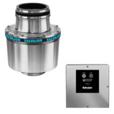 "Salvajor 1-HP Disposer w/ 3-1/2"" Sink Assembly and RSS-2 Control"