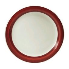 "Oneida R4128079139 Jubilee Raspberry 9"" Ivory / Plate - 24 / CS"