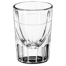 Libbey 5127/S0711 Fluted 1.5 Oz Shot Glass With 7/8 Oz Line - 12 / CS