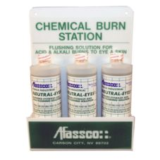 Afassco® 715 Chemical Burn Eye Wash Station