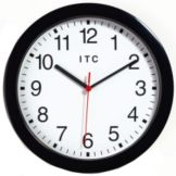 Wall Clock, Black Case