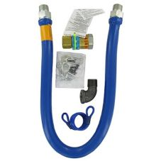 "Gas Hose Kit W/ Quick Disconnect , 3/4"" x 48"""